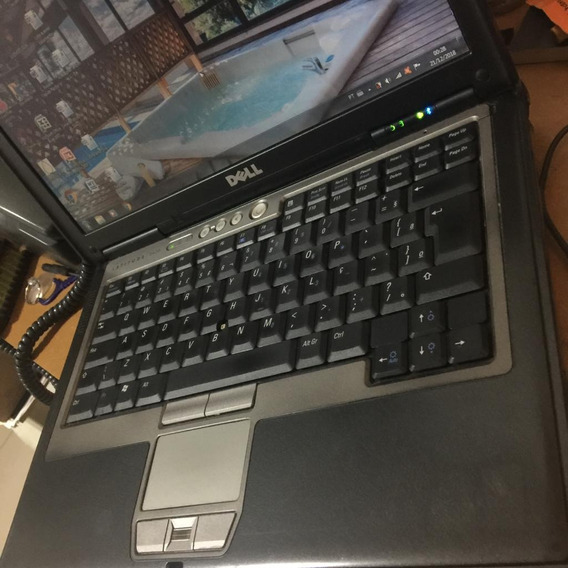 Dell Notebook Latitude D620 Garantia Windows 7 Biometria