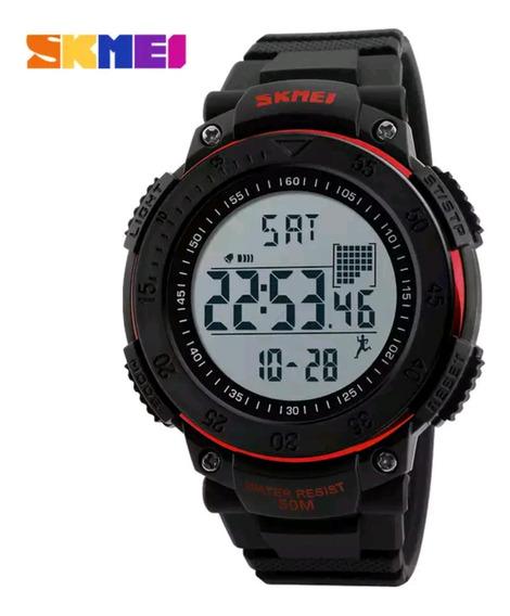 Relógio Masculino Digital Skmei 1238 Função Pedômetro Sport