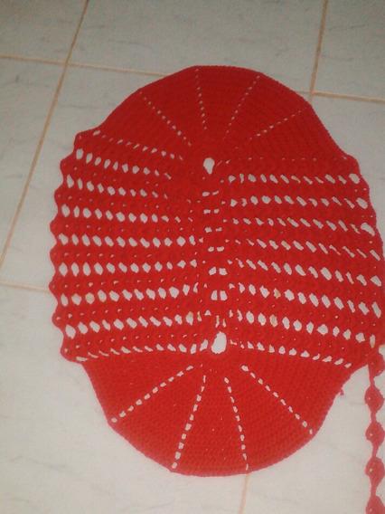 Tapete De Croche Redondo