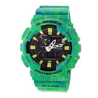 Reloj Casio Gax 100mb 3adr Diseño Unico Verde Resina