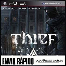 Thief + Dlc O Roubo Ao Banco - Jogos Midia Digital Ps3 Psn