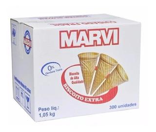 Casquinha Marvi Biscoito Extra P/ Sorvete Direto Da Fabrica