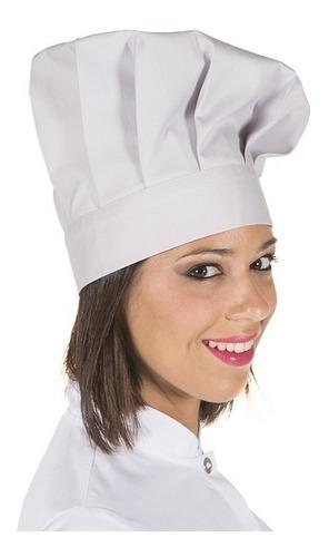 Gorros Tipo Hongo Chef Cocina/cocinero Dril