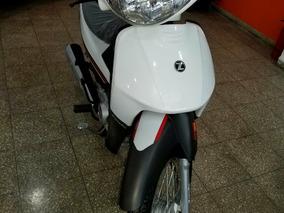 Zanella Zb 110 Z1 Automatica 0km Rojo - Blanco - Azul