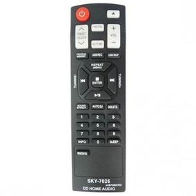 Controle Som Minisystem Lg Cm4350 Cm4450 Cm4650 Akb73655702