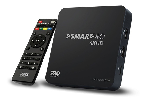 Receptor Tv Box Smart Proeletronic 2.0gb 7.1 4k Full Hd