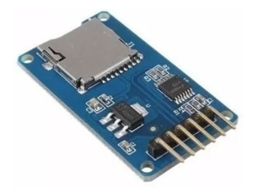 Modulo Leitor Cartão Micro Sd Card Arduino