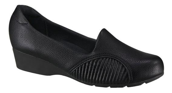 Sapato Feminino Modare Ultraconforto Para Joanete Preto