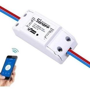 Sonoff Interruptor Wifi Domótica Smatphone 2200w | Prisma
