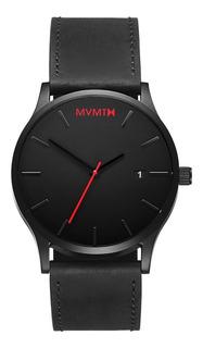 Reloj Mvmt Clásico Negro / Cuero Negro
