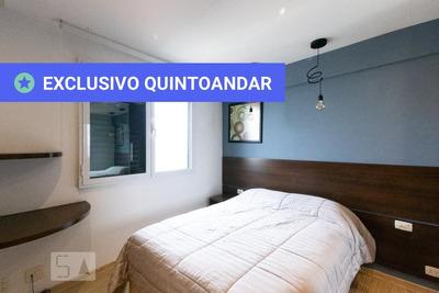 Apartamento No 22º Andar Mobiliado Com 1 Dormitório E 1 Garagem - Id: 892934611 - 234611