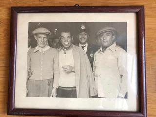 Fotografía Antigua Cantinflas Con Pedro Vargas, Año 1956