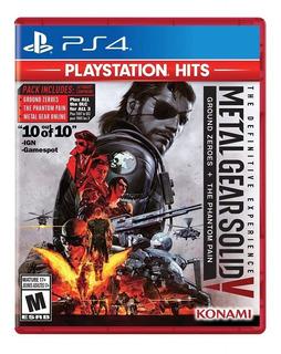 Metal Gear Solid 5 Tde - Ps4 - Digital - Manvicio