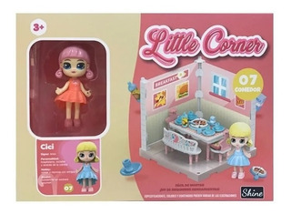 Little Corner Muñeca C/ Escenarios Coleccionable Shine