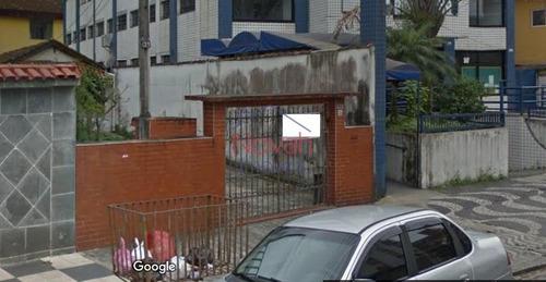 Terreno À Venda, 280 M² Por R$ 840.000,00 - Encruzilhada - Santos/sp - Te0016