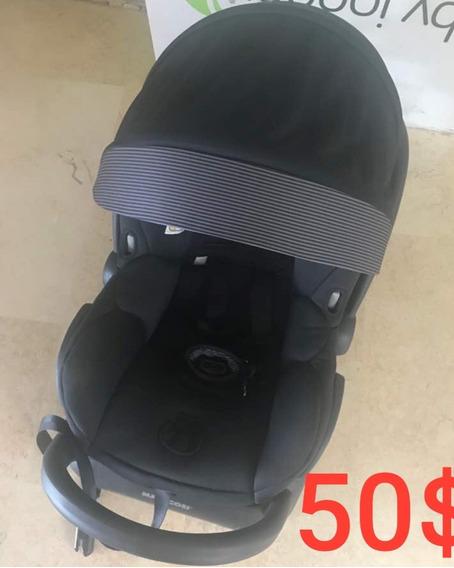 Porta Bebé Con Base Para Carro Maxicosi