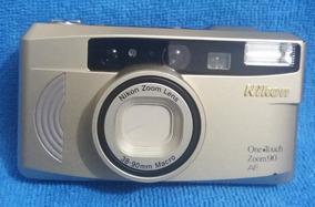Câmera Fotográfica Retrô Nikon One Touch Zoom90 38-90mm