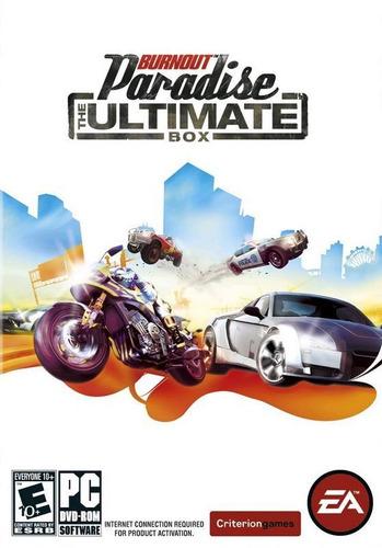 Jogo Pc Burnout Paradise The Ultimate Box Original Dvd