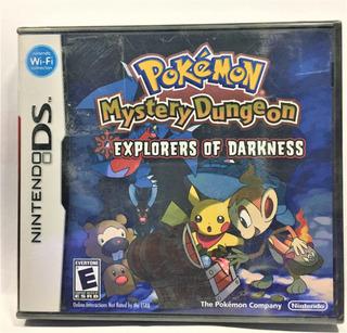Pokemon Mystery Dungeon Explorers Of Darkness Nuevo Nintendo