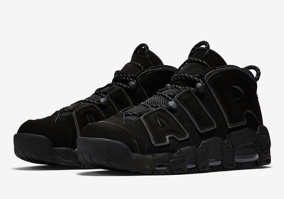 Nike Air Uptempo Black Reflective