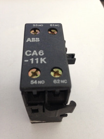 Kit 03 Pçs - Contato Auxiliar Abb Ca6-11k