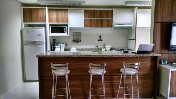 Apartamento Mobiliado Em Condomínio Clube Em São José - Ap5715