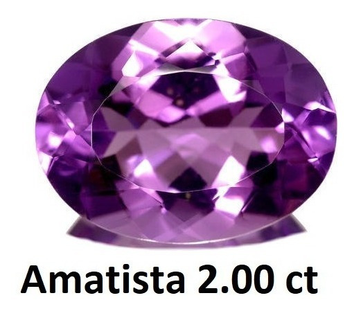 Amatista Corte Oval De 2.00 Quilates (ct)