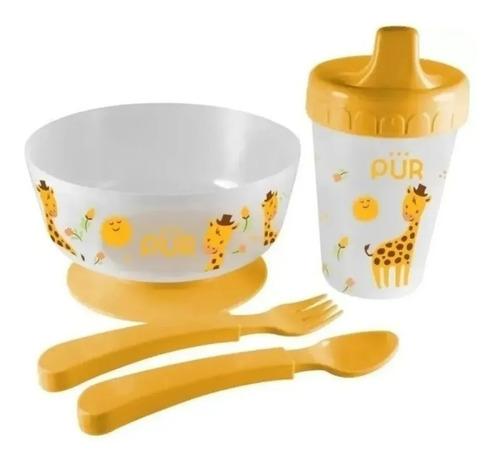 Vajilla Para Bebé Con Chupas Antideslizantes. Vaso.cubiertos