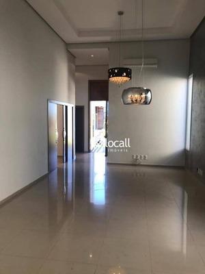 Casa Com 3 Dormitórios À Venda, 217 M² Por R$ 900.000 - Residencial Gaivota I - São José Do Rio Preto/sp - Ca2022