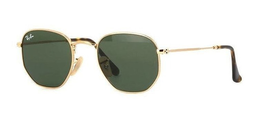 Oculos De Sol Hexagonal Marrom Degade Ultimas Peças