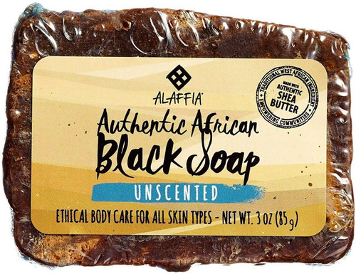 Jabón Africano Jabón Negro X85g - kg a $16970