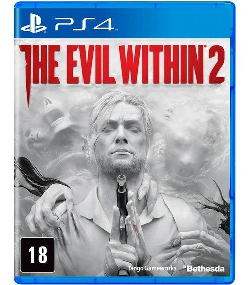 The Evil Within 2 Ps4 Mídia Física Novo Lacrado