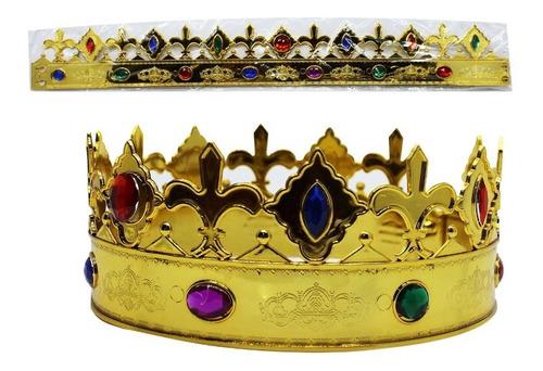 Corona De Rey Ajustable Adultos O Niños