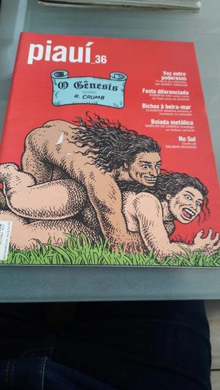Revista Piauí 36 - O Genesis