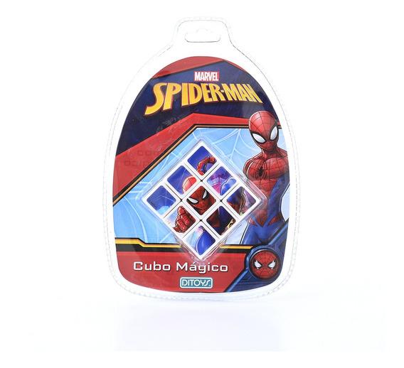 Cubo Magico Spiderman 3x3 Original Ditoys