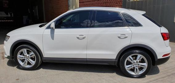Audi Q3 180cv Unico Dono - Branca, Interior Caramelo