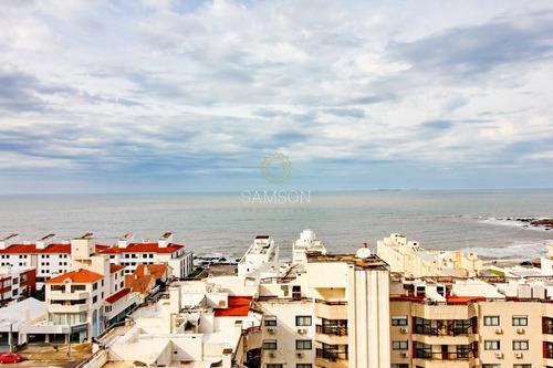 Venta Apartamento Con Vista Al Mar En Península, Punta Del Este- Ref: 63863