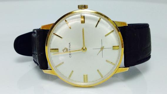 Reloj De Oro Sólido De 18k. Marca Certina (ref 839)