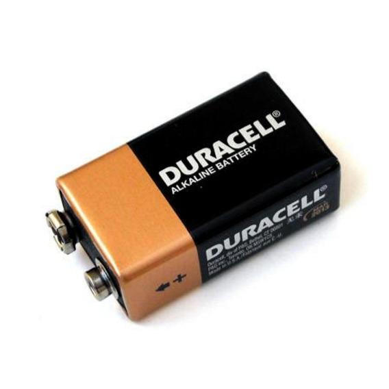 Kit 10 Baterias 9v Duracell Original Alcalina