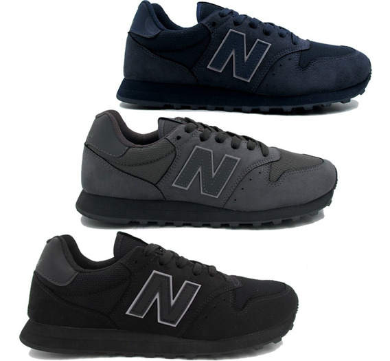 Tênis Masculino New Balance Gm500 Camurça Color Original