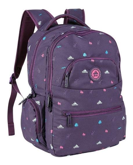 Mochila Spector Sky Purple Original Moda Feminina Roxa 16 L