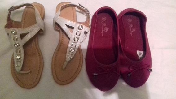 Zapatos Y Sandalias Para Niñas Talla 35