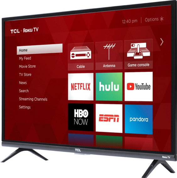 Tv Tcl 32 Class Hd Roku Smart Led Nueva !!! 32s321