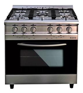 Cocina Morelli Industrial 82 Cm 5 Hornallas Pta. Visor Acero