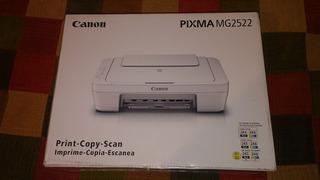 Impresora Canon, Imprime, Copia Y Escanea