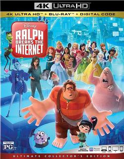 Blu-ray 4k --- Ralph Breaks The Internet