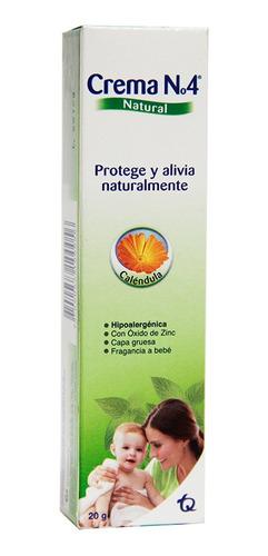 Crema N°4 Natural Caléndula X 20gr