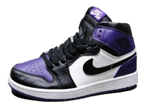 Jordan 1 Retro High Court Purple Hombre Envio Gratis