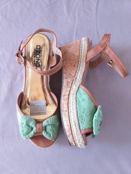 Lote De Zapatos Usados Para Dama