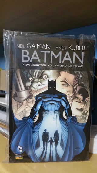 Batman O Que Aconteceu Ao Cavaleiro Das Trevas Panini Dc
